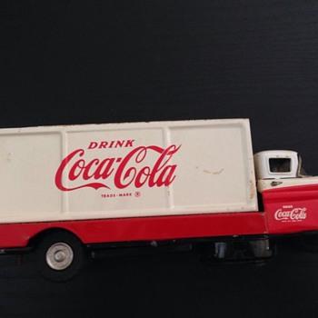 1960's Sanyo Coca Cola delivery truck