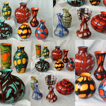 A LOOK at part of my Collection - Art Glass