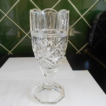 Vintage Glass Vase - Art Glass
