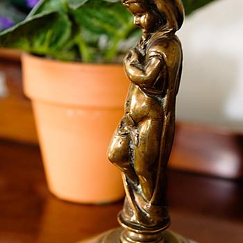 Brass Statue - Art Nouveau