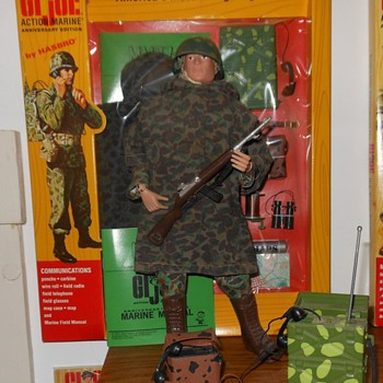 GI Joe Marine Communications Set