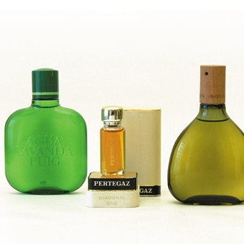 3 perfume bottles, Andr Ricard (1960s/1970s) - Bottles