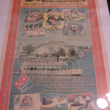 8oth aniversary Indiana Beach News paper poster