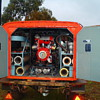 vintage firefighting trailer