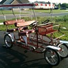 Italian Surrey Quadricycle Pedal Bike