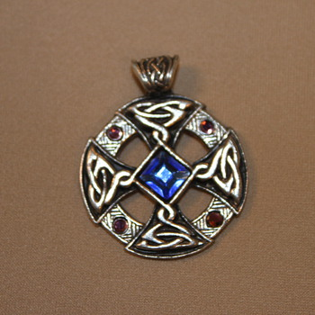 Nordic Lights Pendant - Costume Jewelry