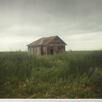 The last building left on our homestead Farm  - Photographs