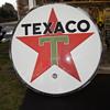 6' Hard Plastic Texaco Sign