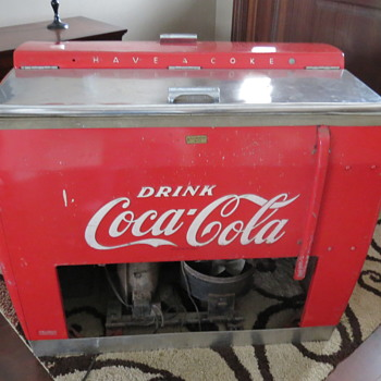 kelvinator coke chest cooler
