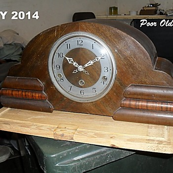 My recently restored Enfield Mantel Clock - Clocks