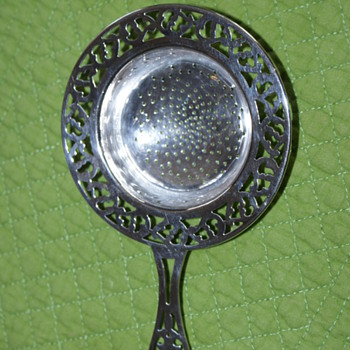 Sterling Silver Tea Strainer - Sterling Silver