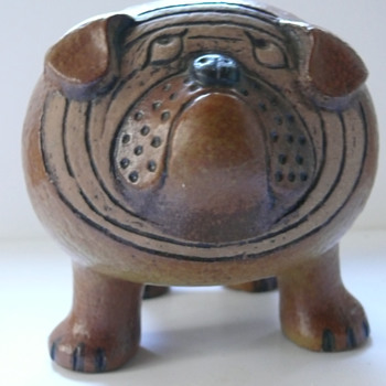 lisa larson bulldog - Art Pottery