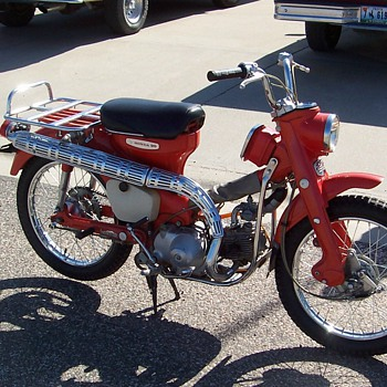 1967 Honda CT90 - Motorcycles