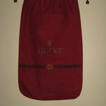 AUTHENTIC VINTAGE GUCCI-ITALY- DUST COVER