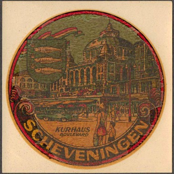 Travel Decal - Kurhaus Boulevard, Scheveningen - Holland