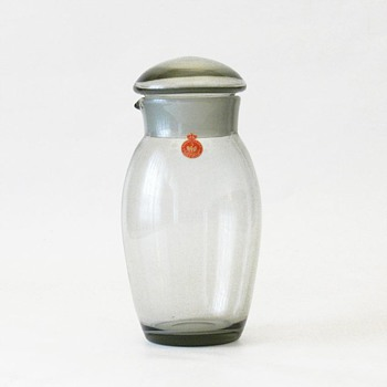 SKIPPER cocktail shaker, Per Lütken (Holmegaard, 1958)  - Art Glass