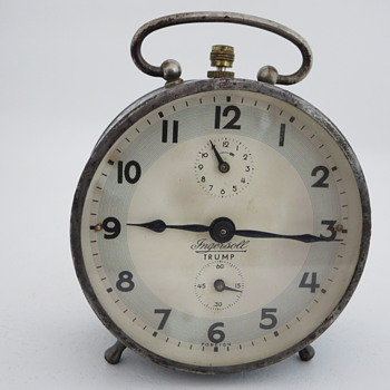 Ingersoll Trump Foreign Alarm Clock - Clocks