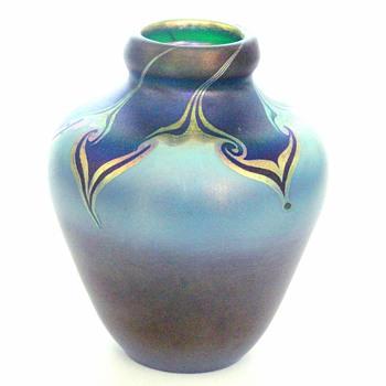 A Tiffany vase