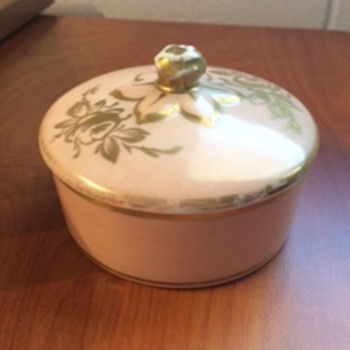 Limoges Hand Painted Trinket Box - China and Dinnerware