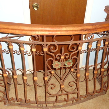 New to Me Wrought Iron Balcony