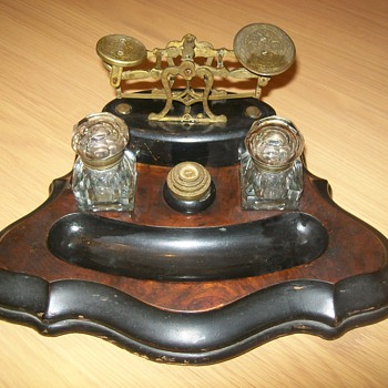 Antique Postal Scales - Office