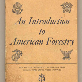 US Military Education Manual - Forestry