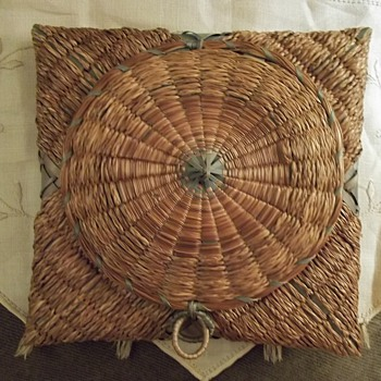 Native American  Star Handkerchief Basket