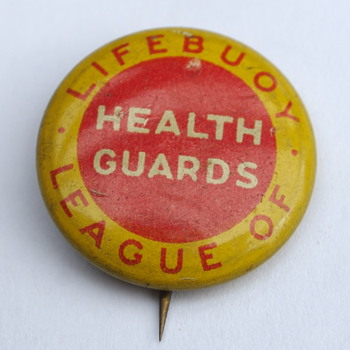 Lifebouy League of Health Guards Pin