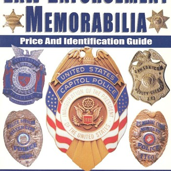 Law Enforcement Memorabilia book