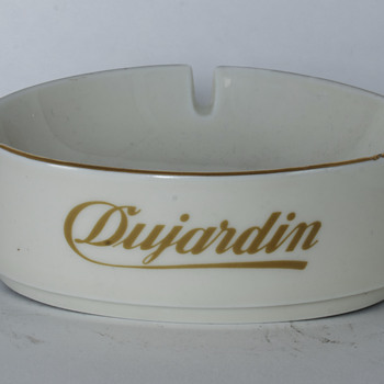 Dujardin Ceramic Ashtray