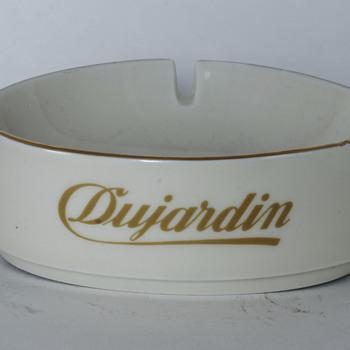 Dujardin Ceramic Ashtray - Advertising
