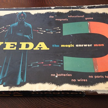Veda, the Magic Answer Man - Games