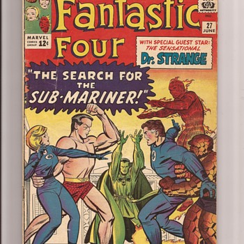 Fantastic Four favourites - Comic Books