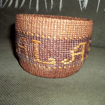 Tsimshian Basket 
