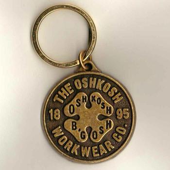 OshKosh Workwear Keyring Fob