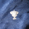 Sterling Sugar Bowl LSU 1965 charm