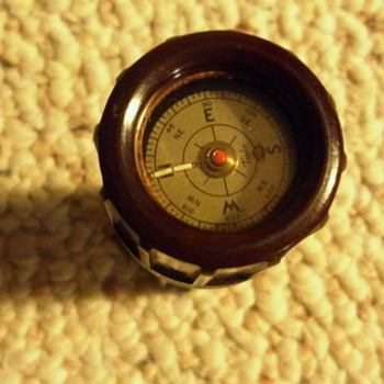 U.S. Military Compass and Match box - Military and Wartime