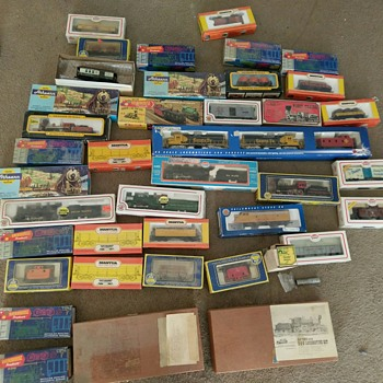 Who wants some ...... I got some new toys - Model Trains