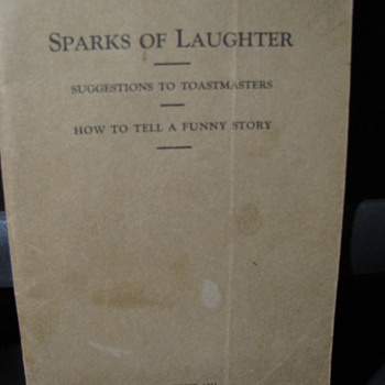 Sparks of Laughter 1921 - Books