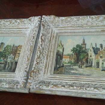 1900. century dutch painthings - Visual Art