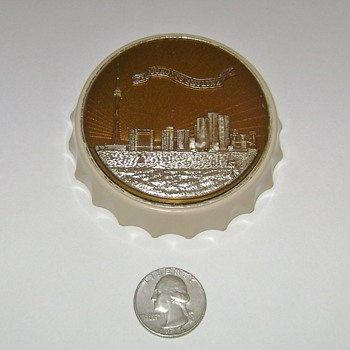 Toronto Skyline Bottle Opener