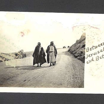 Antique Picture of Palestine in 1911