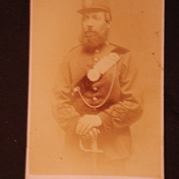 1881-97 CDV photo need id uniform?  - Military and Wartime