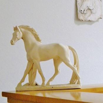 Cavallo Zalpio Horse Statue Vintage