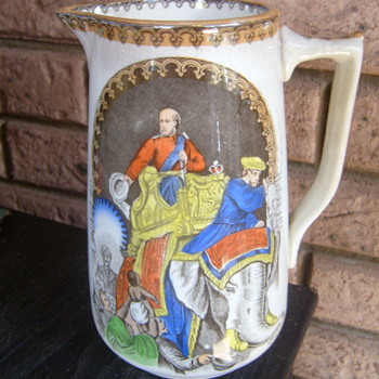 19TH CENTURY COCHRAN SCOTLAND INDIA JUG. - China and Dinnerware