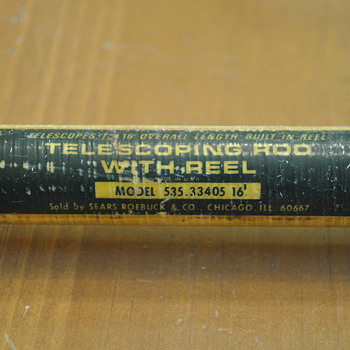 Sears & Roebuck 16' Telescoping Rod & Reel - Fishing