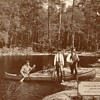 River Fishing in Canada - circa 1917