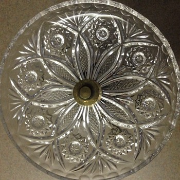 L & L WMC pedestal ashtray