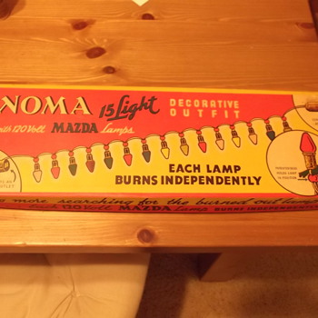 Vintage Noma Christmas Lights