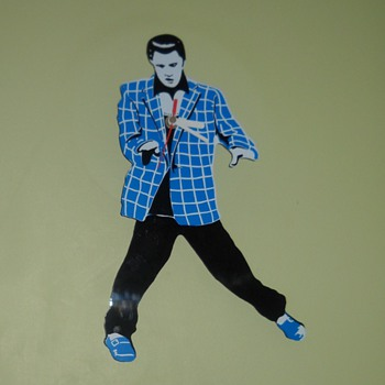 Elvis Clock - Clocks